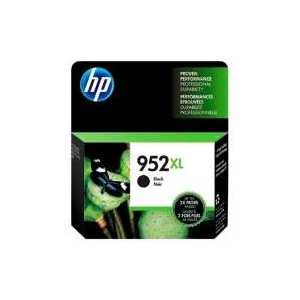 Original HP 952XL Black ink cartridge, High Yield, F6U19AN