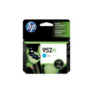 Original HP 952XL Cyan ink cartridge, High Yield, L0S61AN