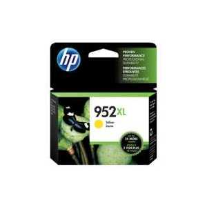 Original HP 952XL Yellow ink cartridge, High Yield, L0S67AN