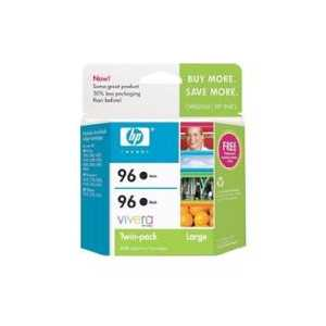 Multipack - HP 96 genuine OEM ink cartridges - C9348FN - 2 pack