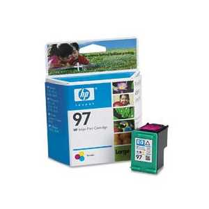 Original HP 97 ink cartridge, C9363WN