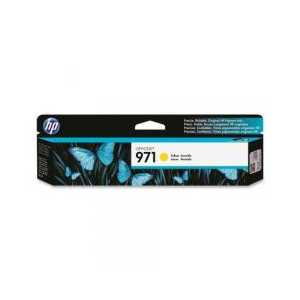 Original HP 971 Yellow ink cartridge, CN624AM