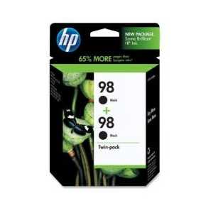 Multipack - HP 98 genuine OEM ink cartridges - C9514FN - 2 pack