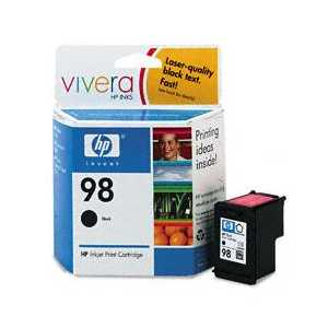 Original HP 98 ink cartridge, C9364WN