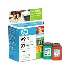 Multipack - HP 99 / HP 97 genuine OEM ink cartridges - C9517FN - 2 pack