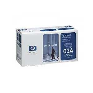 Original HP 03A Black toner cartridge, C3903A, 4000 pages