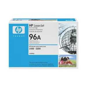 Original HP 96A Black toner cartridge, C4096A, 5000 pages