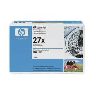 Original HP 27X Black toner cartridge, High Yield, C4127X, 10000 pages