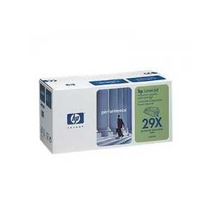 Original HP 29X Black toner cartridge, High Yield, C4129X, 10000 pages