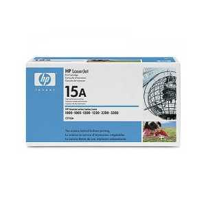 Original HP 15A Black toner cartridge, C7115A, 2500 pages