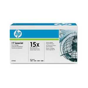 Original HP 15X Black toner cartridge, High Yield, C7115X, 3500 pages