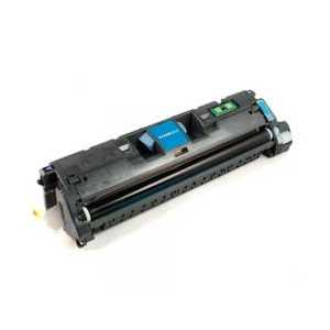 Remanufactured HP 121A Cyan toner cartridge, C9701A, 4000 pages