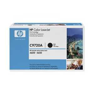 Original HP 641A Black toner cartridge, C9720A, 9000 pages