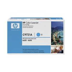 Original HP 641A Cyan toner cartridge, C9721A, 8000 pages
