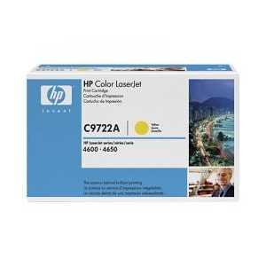 Original HP 641A Yellow toner cartridge, C9722A, 8000 pages