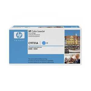 Original HP 645A Cyan toner cartridge, C9731A, 12000 pages