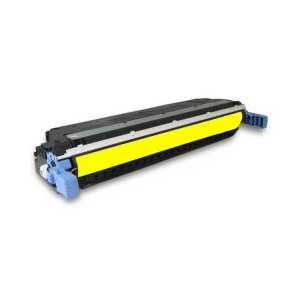 Remanufactured HP 645A Yellow toner cartridge, C9732A, 12000 pages