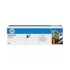 Original HP 823A Black toner cartridge, CB380A, 16500 pages