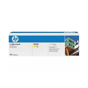 Original HP 824A Yellow toner cartridge, CB382A, 21000 pages