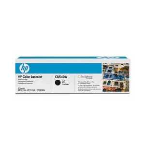 Original HP 125A Black toner cartridge, CB540A, 2200 pages