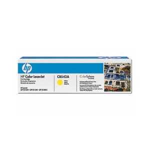 Original HP 125A Yellow toner cartridge, CB542A, 1400 pages