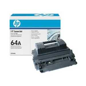 Original HP 64A Black toner cartridge, CC364A, 10000 pages