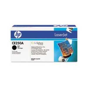 Original HP 504A Black toner cartridge, CE250A, 5000 pages