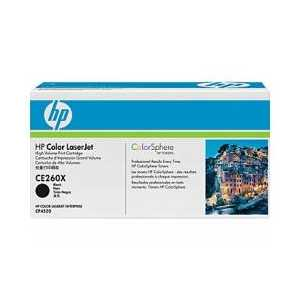 Original HP 649X Black toner cartridge, High Yield, CE260X, 17000 pages
