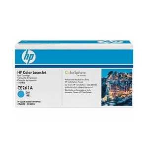 Original HP 648A Cyan toner cartridge, CE261A, 11000 pages