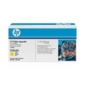 Original HP 648A Yellow toner cartridge, CE262A, 11000 pages