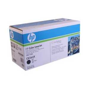 Original HP 646X Black toner cartridge, High Yield, CE264X, 17000 pages