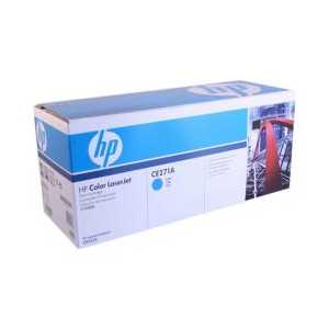 Original HP 650A Cyan toner cartridge, CE271A, 15000 pages