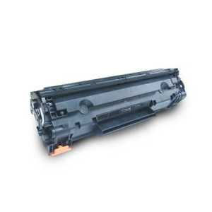 Remanufactured HP 85A Black toner cartridge, CE285A, 1600 pages