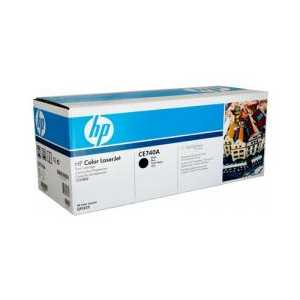 Original HP 307A Black toner cartridge, CE740A, 7000 pages