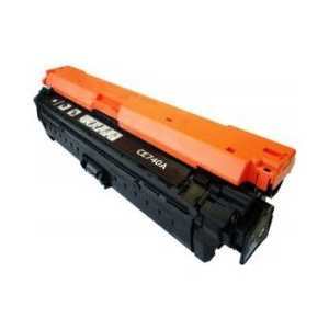 Remanufactured HP 307A Black toner cartridge, CE740A, 7000 pages