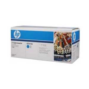 Original HP 307A Cyan toner cartridge, CE741A, 7300 pages