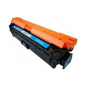 Remanufactured HP 307A Cyan toner cartridge, CE741A, 7300 pages