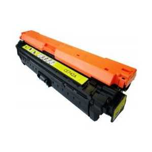 Remanufactured HP 307A Yellow toner cartridge, CE742A, 7300 pages