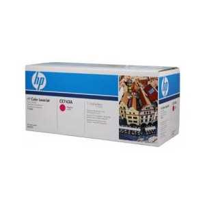 Original HP 307A Magenta toner cartridge, CE743A, 7300 pages