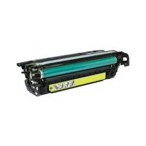 Remanufactured HP 646A Yellow toner cartridge, CF032A, 12500 pages
