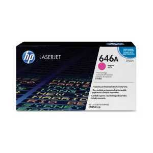 Original HP 646A Magenta toner cartridge, CF033A, 12500 pages