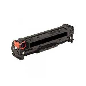 Remanufactured HP 312A Black toner cartridge, CF380A, 2400 pages