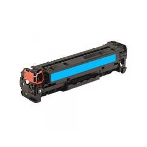 Remanufactured HP 312A Cyan toner cartridge, CF381A, 2700 pages