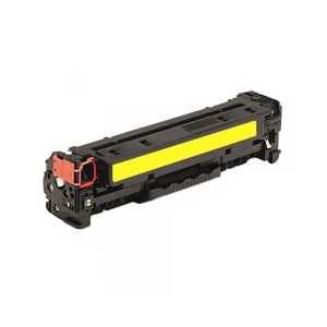 Remanufactured HP 312A Yellow toner cartridge, CF382A, 2700 pages