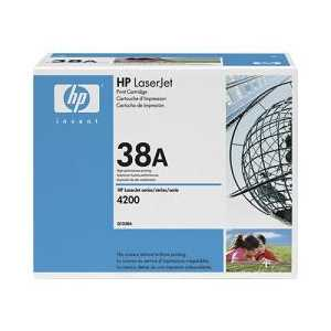 HP 38A Black genuine OEM toner cartridge - Q1338A