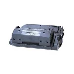 Remanufactured HP 38A Black toner cartridge, Q1338A, 12000 pages