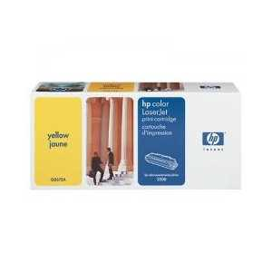 Original HP 309A Yellow toner cartridge, Q2672A, 4000 pages