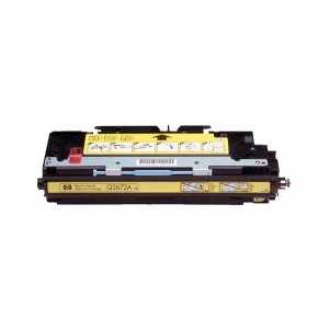 Remanufactured HP 309A Yellow toner cartridge, Q2672A, 4000 pages