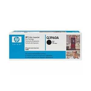 Original HP 122A Black toner cartridge, Q3960A, 5000 pages