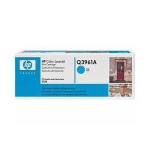 Original HP 122A Cyan toner cartridge, Q3961A, 4000 pages